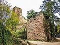 Le château vu du fossé défensif ouest.jpg