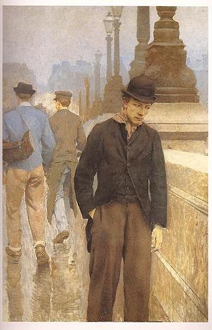 Victor Leydet (painter) - Image: Le désespéré Victor Leydet vers 1897