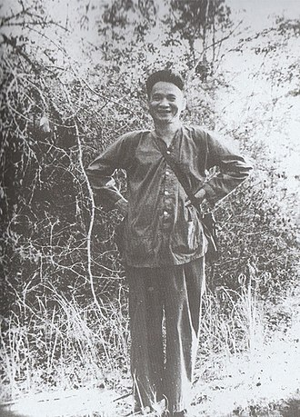 Lê Đức Anh - Le Duc Anh during the Vietnam War as the deputy commander of the People's Liberation Armed Forces of South Vietnam.