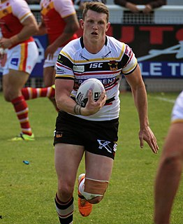 Lee Gaskell English professional rugby league footballer