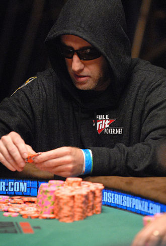 Lee Watkinson - Watkinson at the final table of the 2007 World Series of Poker.