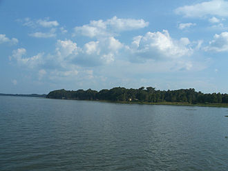 Lake Harris (Florida) - Looking east from Singletary Park