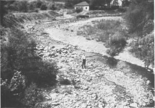Leggetts Creek river in the United States of America
