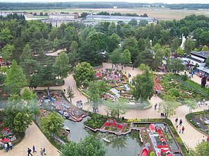 Legoland Billund Resort - Image: Lego Billund Tower View