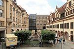 Leipzig - Naschmarkt - Goethe-Denkmal + Altes Rathaus 01 ies.jpg