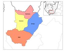 Lékoumou Department--Lekoumou districts