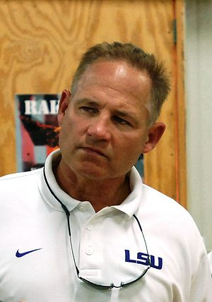 Les Miles - Miles while at LSU.