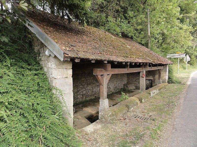 Les Souhesmes (Les Souhesmes-Rampont, Meuse) lavoir Souhesme-la-Petite