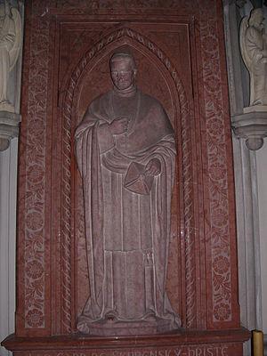 Lev Skrbenský z Hříště - Tombstone of Lev Skrbenský z Hříště in Saint Wenceslas cathedral in Olomouc (Czech Republic)
