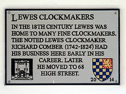 Lewes clockmakers