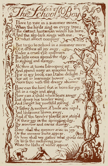 Life of William Blake (1880), Volume 2, Songs of Experience - School Boy.png