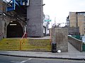 Limehouse DLR Station entrance.JPG