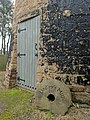 Lindley's Windmill, Bottom of Prospect Place, Off High Pavement, Sutton (8). Front door with millstone.jpg