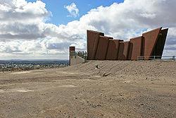 Line of Lode Miner's Memorial, Broken Hill, NSW, 07.07.2007