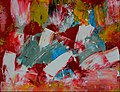 Lisbon falls – 31x41cm Oil On Paper by Kinga Ogieglo.jpg