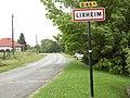 Lixheim (Moselle) panneau d'entrée.jpg