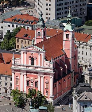 Franciscan Church of the Annunciation - Franciscan Church in Ljubljana