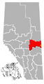 Lloydminster, Alberta Location.png