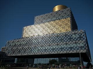 Library of Birmingham public library in Birmingham, England