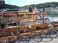 Lobster pots, Teignmouth back beach, 16 May 2013.jpg