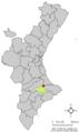Localització de l'Orxa respecte el País Valencià.png