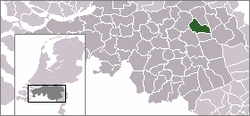 Location of Uden