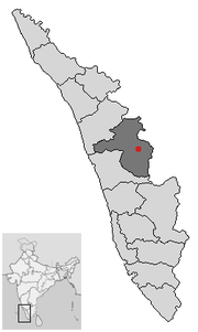 Location of Palakkad Kerala.png