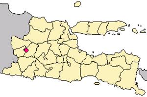 Madiun - Image: Locator kota madiun