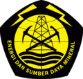 Logo of the Ministry of Energy and Mineral Resources of the Republic of Indonesia.png