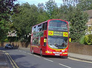 London Buses route 79 Park Lane.jpg