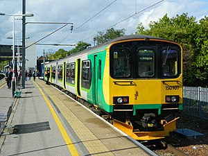 West Midlands Trains - Image: London Midland 150107 at Bedford