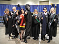 Long Beach Comic & Horror Con 2011 - Hogwarts wizards and a Death Eater (6301177381).jpg