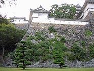 Look up Ido Kuruwa in Himeji Castle
