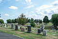 Looking SE across Ranges A-B-C - Glenwood Cemetery - 2014-09-19.jpg