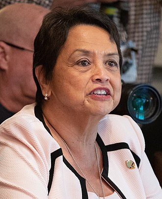 2018 Guamanian gubernatorial election - Image: Lou Leon Guerrero in 2018