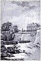 Louis-Roland Trinquesse Gezicht op het park en een vleugel van kasteel Saint-Cloud 1787.jpg