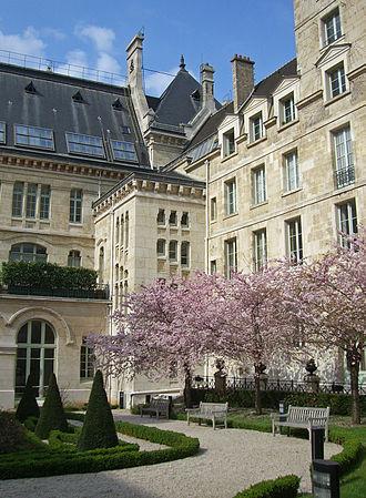 Évariste Galois - The Cour d'honneur of the Lycée Louis-le-Grand, which Galois attended as a boy.