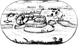 Sidonia von Borcke - The Marienfließ Abbey in 1618.