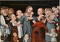 Lucas Cranach - Christus segnet die Kinder (Nationalgalerie in Prag).jpg