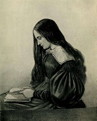 Lucie, Lady Duff-Gordon - A sketch by a school friend of Lucie Austin aged 15