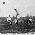 Lucien Gamblin, trois fois vainqueur consécutivement de la Coupe de France, ici en mai 1923.jpg
