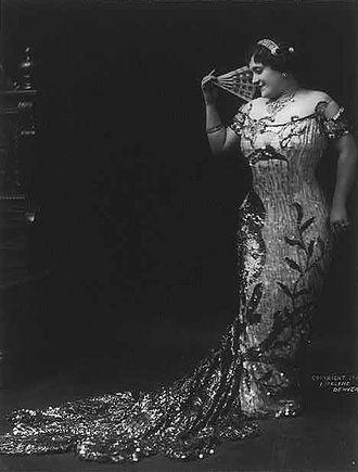 Luisa Tetrazzini - Tetrazzini in 1911