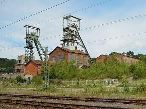 Luisenthal Grube von Bahnhof