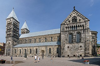 Church in Lund, Sweden