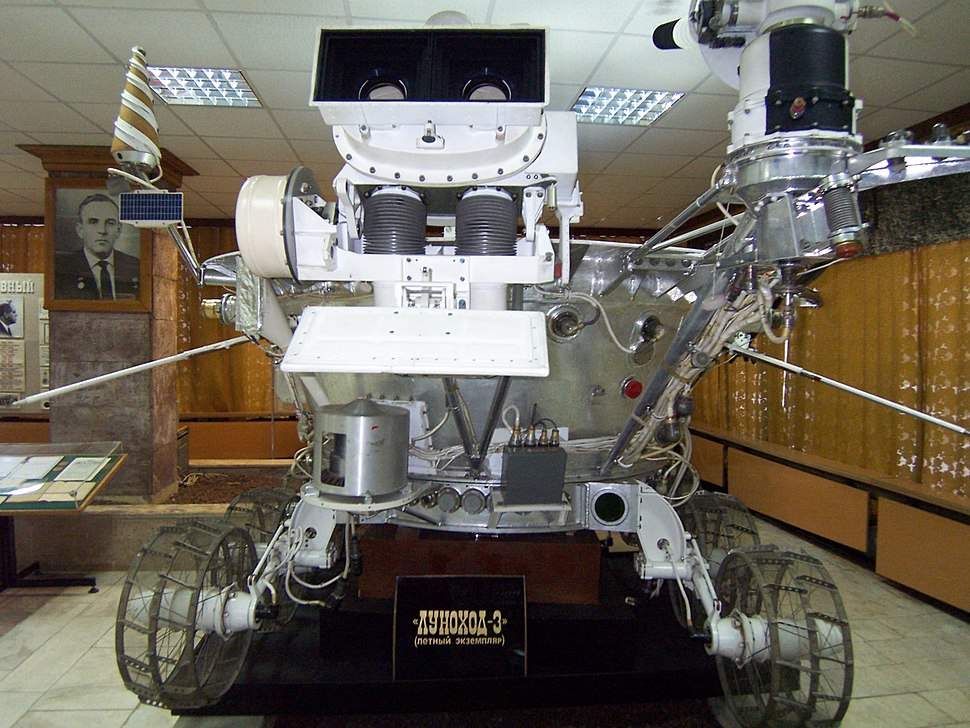 Lunokhod-3 back