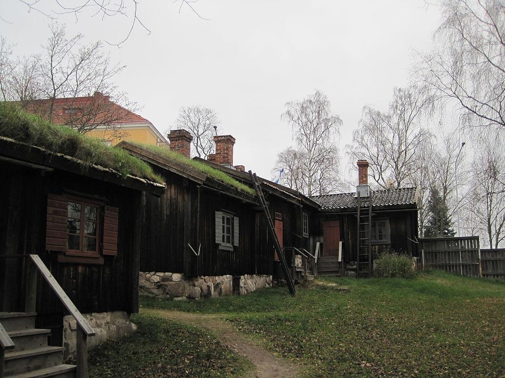 Luostarinmäen käsityöläismuseossa – taloja 2
