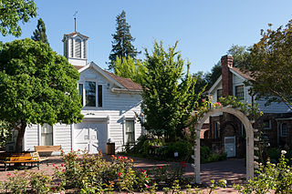 Luther Burbank Home and Gardens city park and historic landmark in Santa Rosa, California