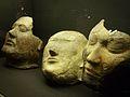Màscares funeràries de la cultura Tashtik, república de Khakàssia, segles V-VI dC, argila.JPG