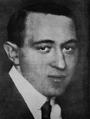 Mátyás Rákosi - Mátyás Rákosi in 1919