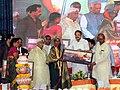 M. Venkaiah Naidu honouring the Achievers of 'Crusade for Toilets', at the 'Swachhta Hi Sewa' and 'A Crusade for Toilets' programmes under Swachh Bharat Abhiyan, at Konnur Village, Gadag District, Karnataka (2).jpg